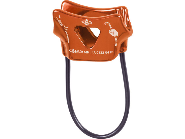 Beal Air Force One Belay Device orange